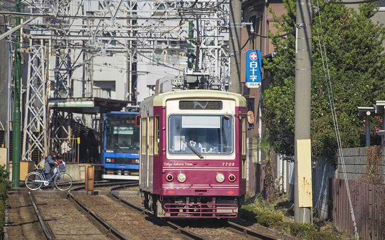都電荒川線(写真/PIXTA)