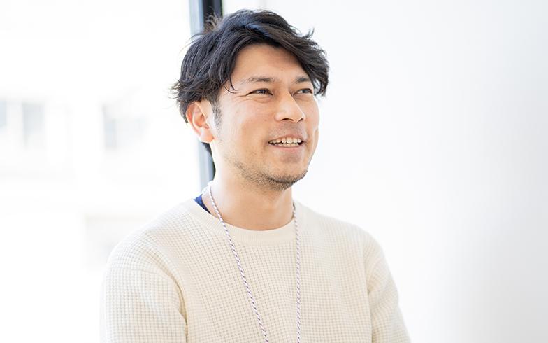 古場健太郎さん(写真撮影/高木真)