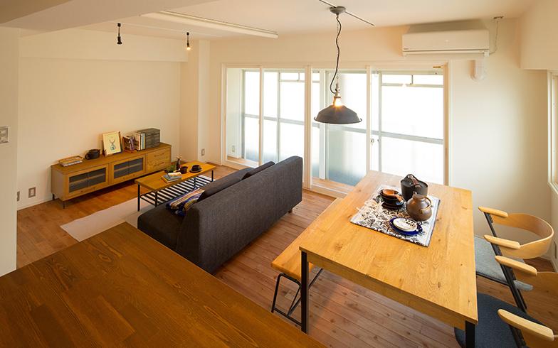 長年空き家だった約35平米・2DKの賃貸の集合住宅を、断熱性能が高い広いワンルームに改修(株式会社大城)