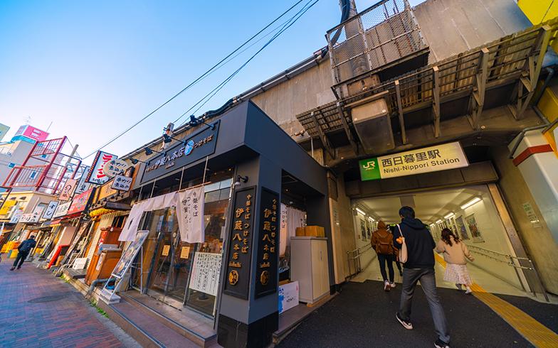 西日暮里駅(写真/PIXTA)