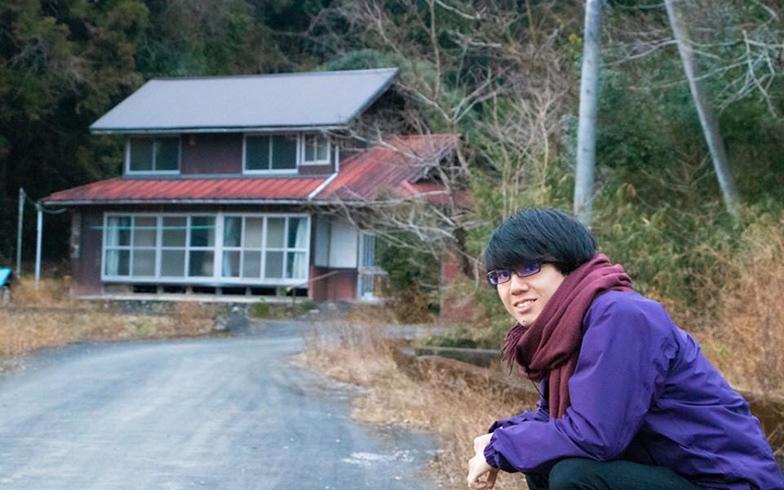 """大学進学した後は、地域活性化ではなく、""""まちの終活""""に着目して活動を続けている(写真提供/前田陽汰さん)"""