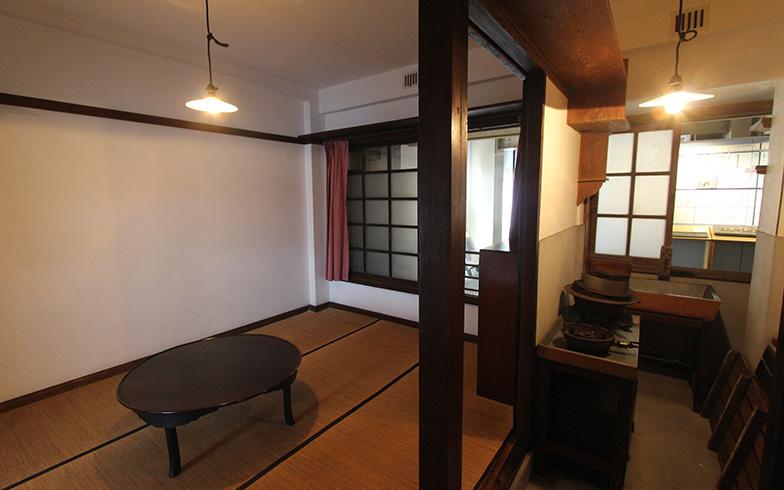 同潤会代官山アパートのファミリー向け物件。お部屋は30平米未満ですがこちらもコンパクトで上品なたたずまい(写真撮影/SUUMOジャーナル編集部)