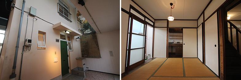 テラスハウスは昭和30年代に公団住宅として供給された住宅のうち、約2割がこのタイプだったそう。専用庭があり、のびのびと暮らせそう(写真撮影/SUUMOジャーナル編集部)