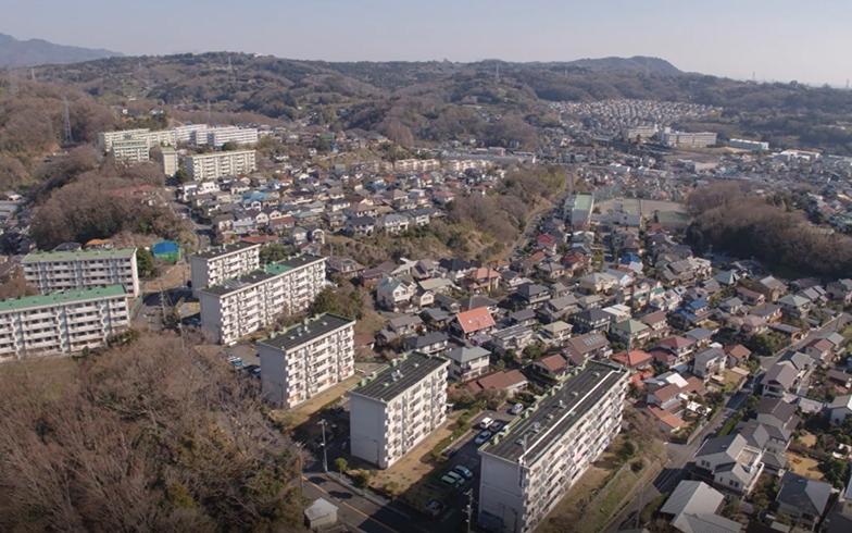約70haの二宮団地。新しい里山暮らしを提案(写真提供/神奈川県住宅供給公社)
