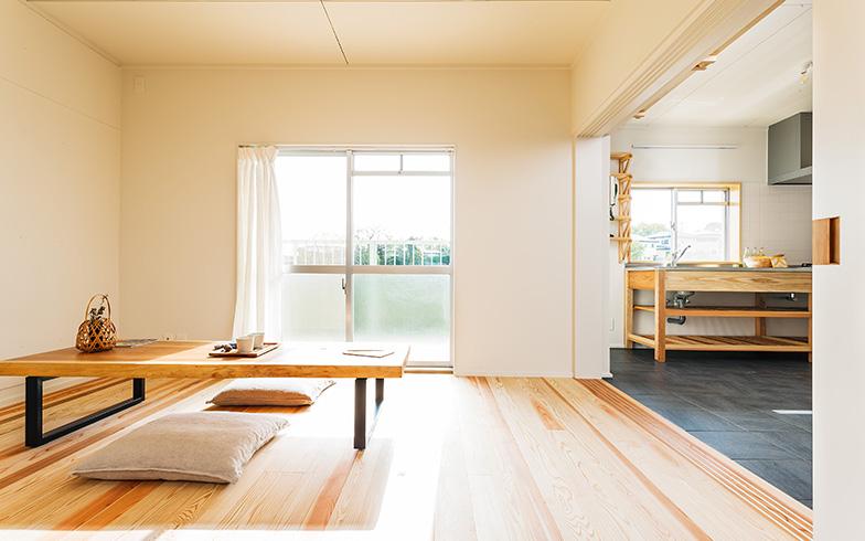 リノベーション後の二宮団地の部屋の一例(写真提供/神奈川県住宅供給公社)