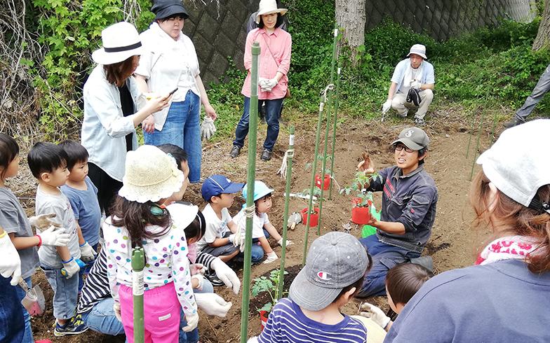 二宮団地では「アグリサポーター制度」により就農を応援するなどの取り組みが行われている(写真提供/神奈川県住宅供給公社)
