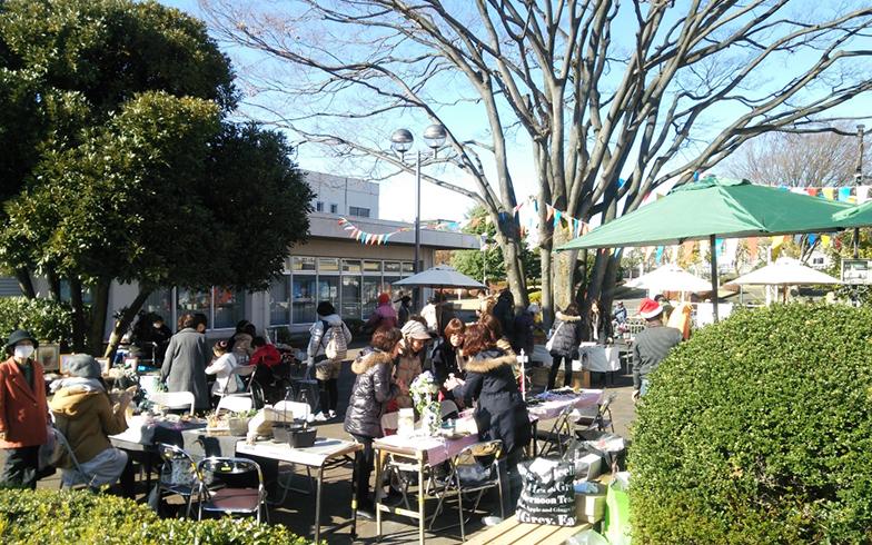 相武台団地の商店街(写真提供/神奈川県住宅供給公社)