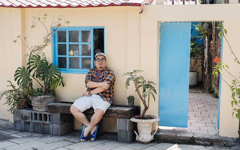 台湾の家と暮らし[4] 台南の歴史地区・安平の古民家に暮らし、アートで高齢者と若者をつなぐ活動も