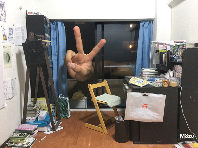 「自分の部屋」(写真提供/MOZU STUDIOS)