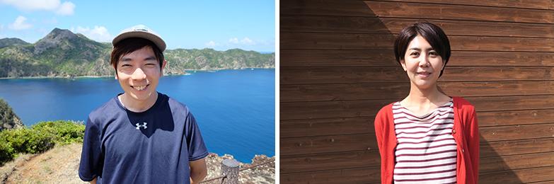 左から『プラなし生活』運営者の中嶋亮太さんと古賀陽子さん(写真提供/中嶋さん・古賀さん)
