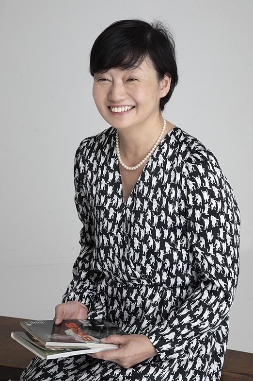 谷一文子さん(画像提供/株式会社図書館流通センター)
