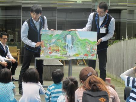 読みメン隊(画像提供/株式会社図書館流通センター)