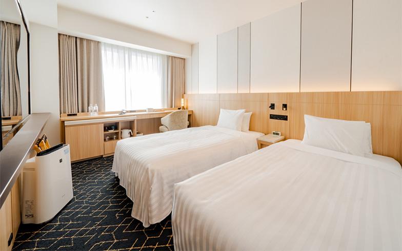 ADDressで提携を発表した札幌B邸「京王プレリアホテル札幌」の個室。コロナ禍ではホテルの活用も有効といえそう(写真提供/ADDress)