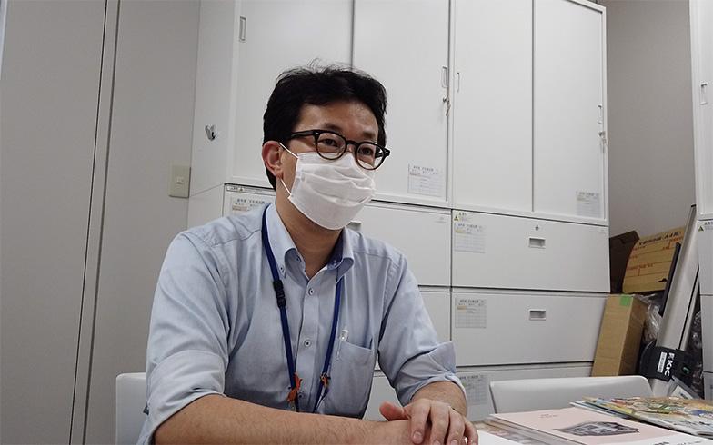 豊島区トキワ荘マンガミュージアム担当課長 熊谷崇之さん(撮影/西村まさゆき)