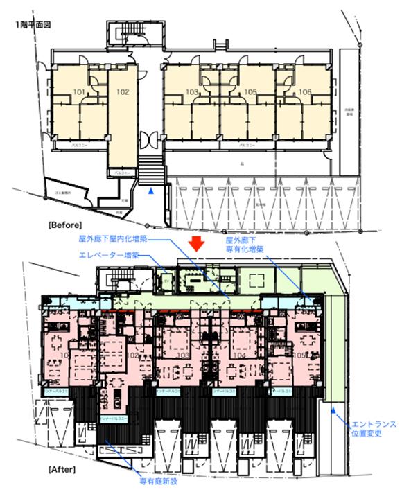 1階平面図(画像提供:青木茂建築工房)