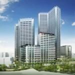 三田小山町再開発。画像:東京都