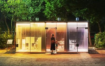 透明トイレ、行燈トイレ、イカトイレ? 渋谷が公共トイレでまちづくり