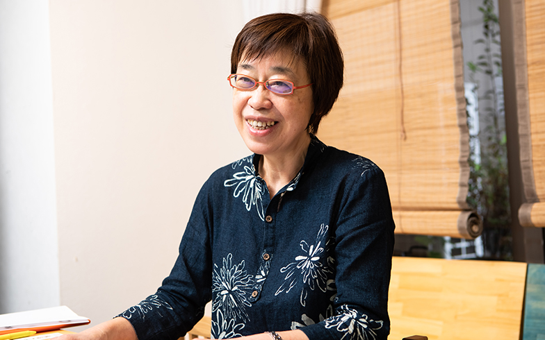 一般社団法人コミュニティネットワーク協会の渥美京子さん(撮影/片山貴博)