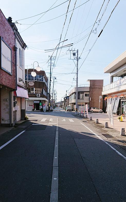 街の中の様子(写真提供/富山県朝日町)