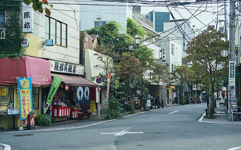 池上本門寺通り商店会の様子。呉服店や煎餅店など、古くからあるお店が今も元気に営業している(写真撮影/相馬ミナ)