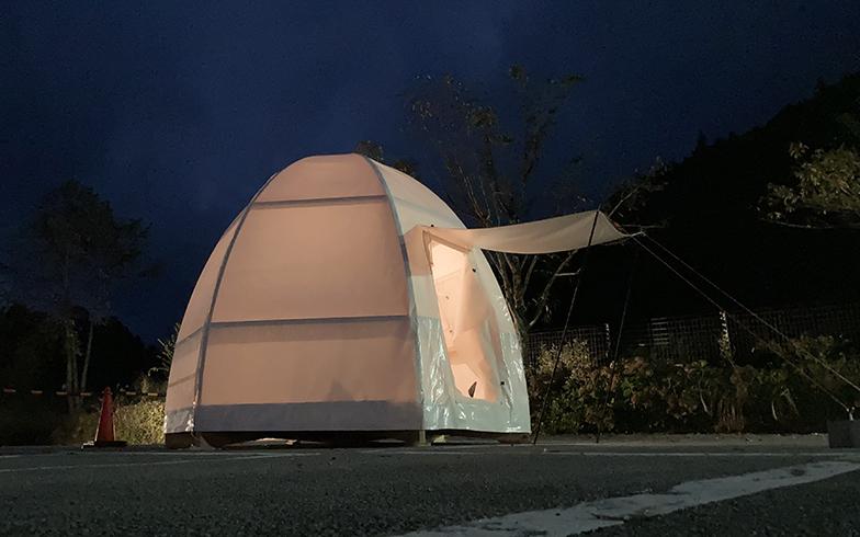 グランピングやキャンプなど宿泊施設としての活用も検討中(写真提供/小菅村)