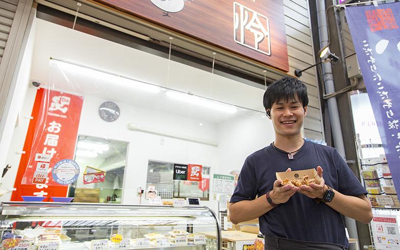 「Kitchen friend怜」の店長・山尾怜司さん(写真撮影/出合コウ介)