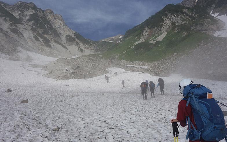 白馬山荘までの登山ルート(写真提供/楽天)