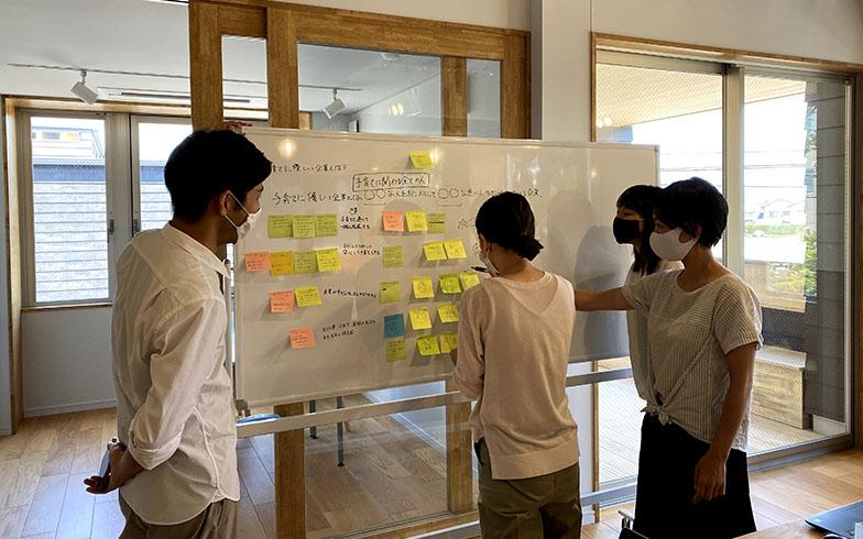 ふるさと副業を支援する「いちぼし堂」のコワーキングでのワークショップ風景。小林さんはここの3階にあるワンルームを借りて静岡での拠点にしている(画像提供/小林さん)