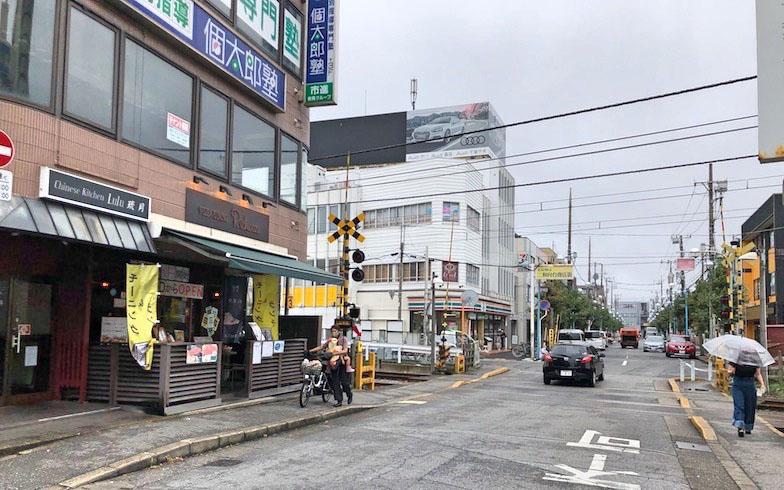 船橋市の北西部に位置し、次の駅は鎌ケ谷市になる(写真撮影/石原たきび)