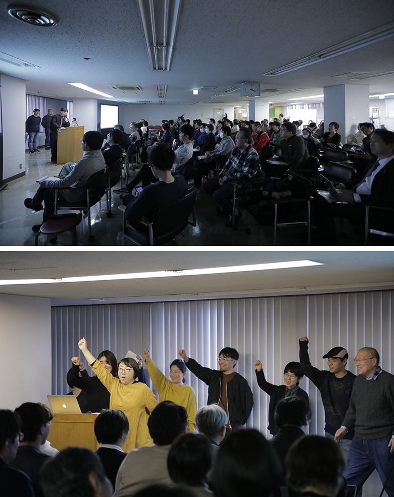 サーキュレーションさいたま公開プレゼンテーションの様子(photo:Mika Kitamura)