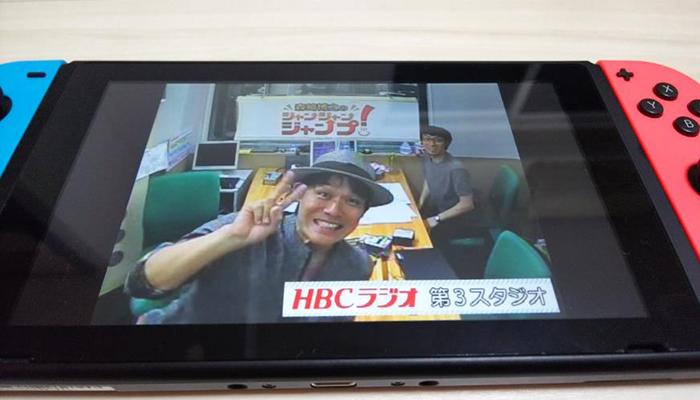 森崎博之のジャンジャンジャンプ!(HBC北海道放送)の収録風景(写真撮影/竹岡紗希さん)