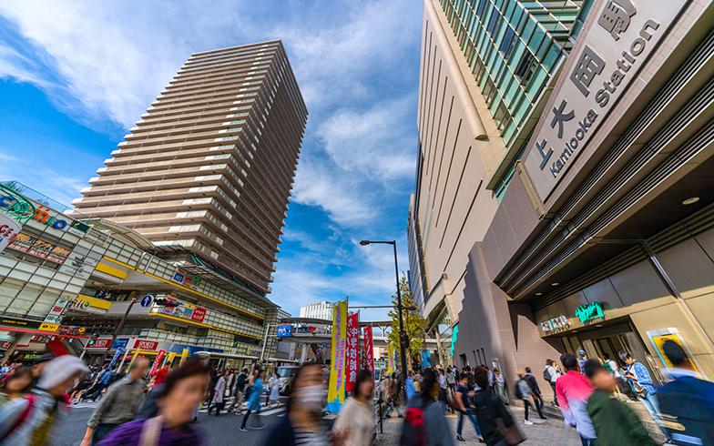 上大岡駅(写真/PIXTA)