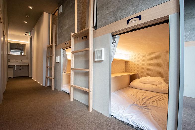 「unitoCHIYODA」では、「都会に安く簡単に住む」をコンセプトに30ベッドを用意(画像提供/Unito)