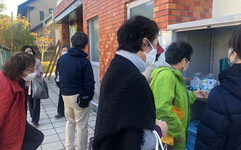 ごみ捨てをきっかけにした地域活性化の取り組み。宮城県南三陸町でアミタが行った実証実験がベースになっている(写真提供/アミタ株式会社)