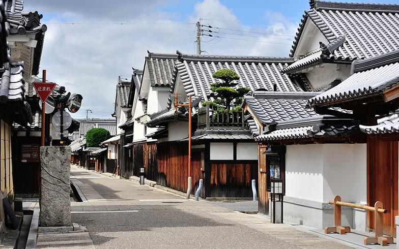 富田林寺内町の町並み(写真/PIXTA)