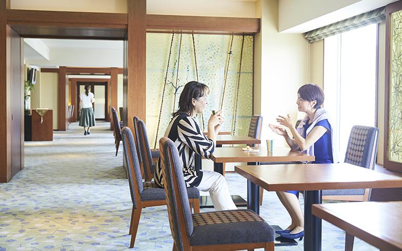 ホテルに長期滞在している間は、家事から解放されて、仕事に集中したり、食事を楽しんだりできる(画像提供/リーガロイヤルホテル)