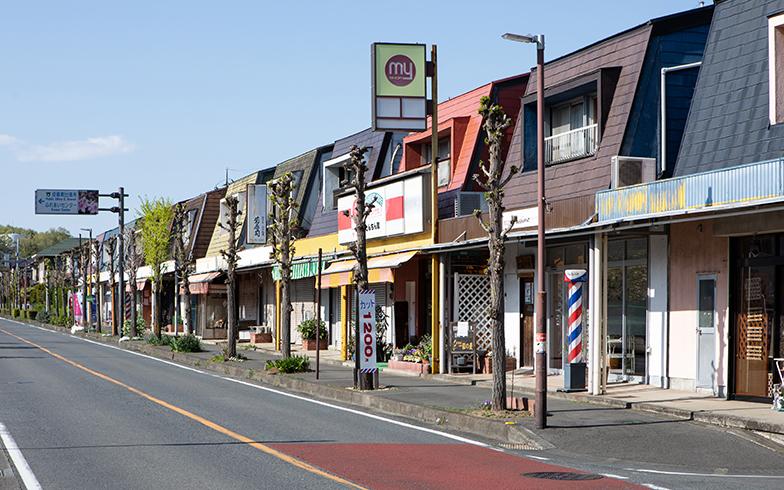 メインストリートには商店なども立ち並びますが、シャッターも多く、ものさびしい印象を受けます(撮影/片山貴博)