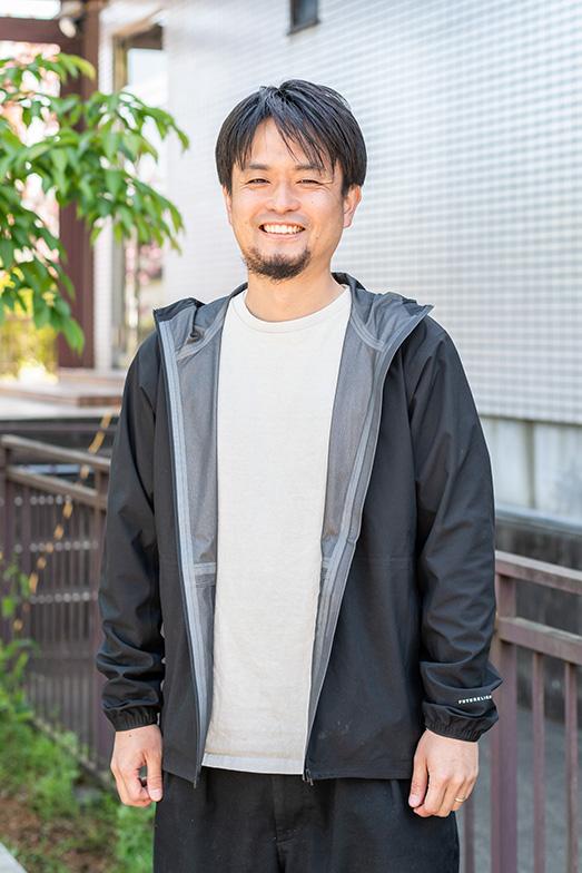 「アパートキタノ」仕掛人「studioPEACEsign」代表・加藤渓一さん(写真撮影/田村写真店)