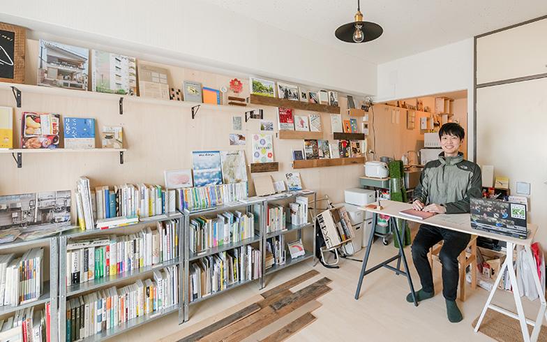 「同じ本屋の活動をする仲間にも来てもらいたい」と堤さん(写真撮影/田村写真店)