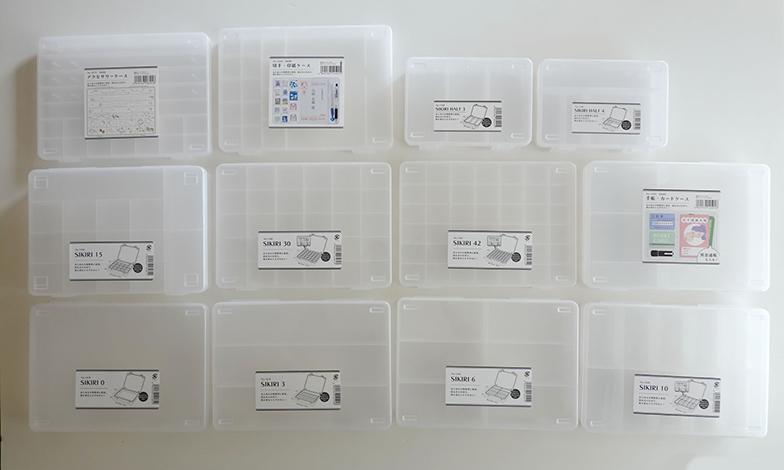 小物の収納に役立つSIKIRIシリーズ。我が家でも重宝しています(写真提供/MONO SIZE)
