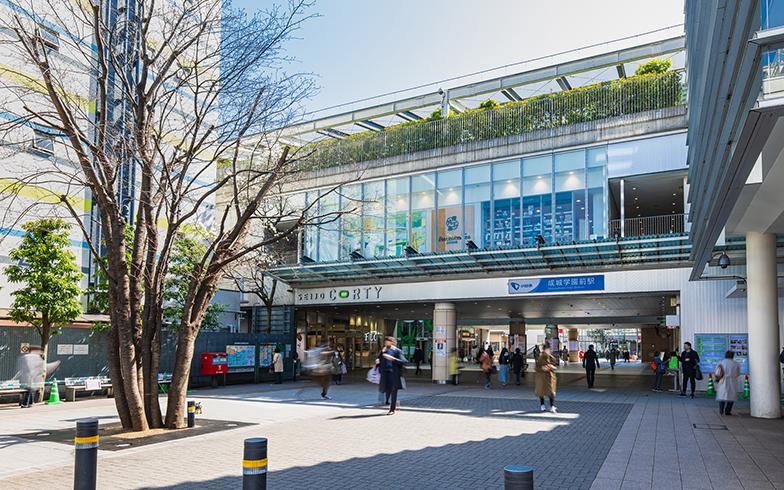 成城学園前駅(写真/PIXTA)