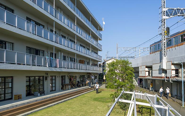 高円寺アパートメント外観。もともとJR東日本の社宅をリノベーションして誕生(写真提供/高円寺アパートメント)