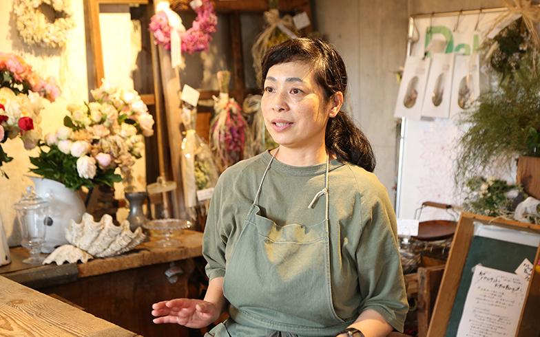 お話を伺った園田あずささん(写真撮影/野田幸一)
