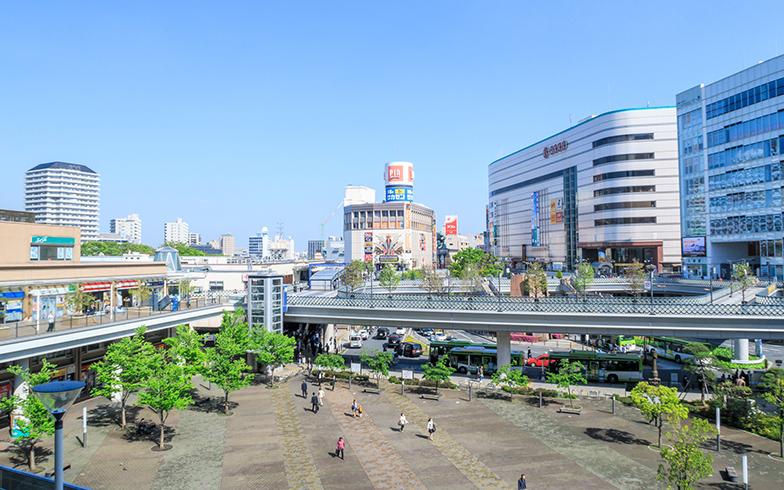 川口駅前 キュポ・ラ広場(写真/PIXTA)