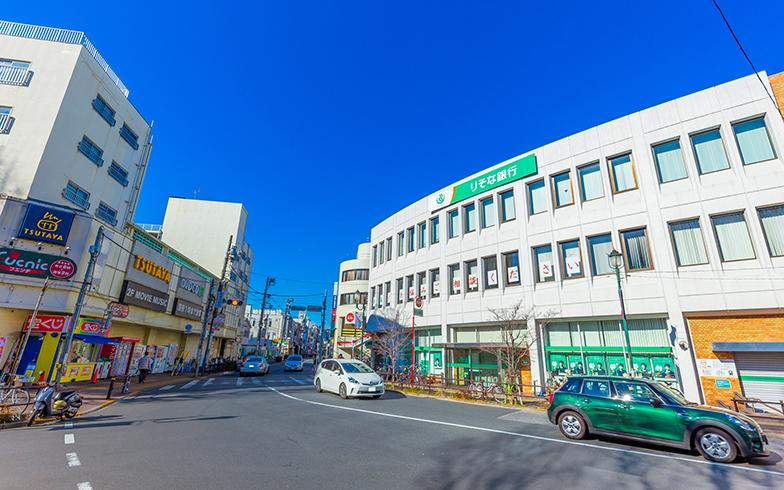 ときわ台駅 北ロ周辺の様子(写真/PIXTA)
