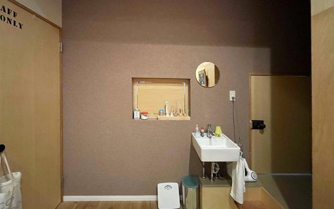 もともと浴室と洗面台、洗濯機置き場がなかったが、新設した(写真提供/「商い暮らし」)