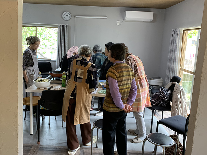 地域の料理会の様子(画像提供/太陽住建)