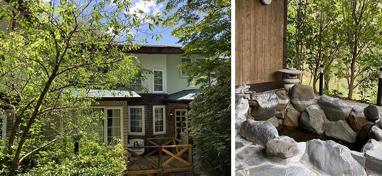 露天風呂のある箱根町のペンションも、昨年末からDIYをし、地域の拠点に。「オーナーさんが、地域のためになるならと賛同していただきました」(画像提供/太陽住建)