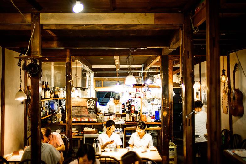On-Coが空き家を活用した飲食店(写真提供/さかさま不動産)