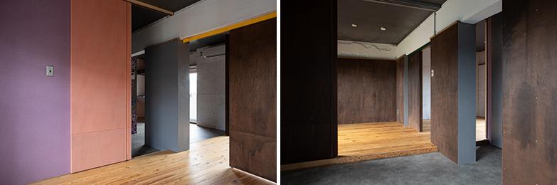 取材時に空室だった部屋。DIYができるため、前の住民がペイントしたもの。オシャレ&このまま住みたい…(写真/片山貴博)